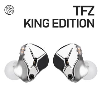 TFZ KING EDITION In Ear Monitors Professional Earphones Hifi Wired Metal Noise Cancelling Earbuds Detachable Detach 2PIN Cable