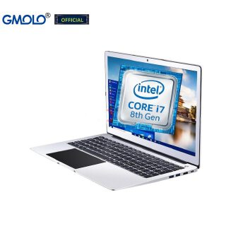 GMOLO 15.6 gaming laptop computer 16GB DDR4 512GB SSD + 1TB core I7 / I5 8th Generation quad core  metal notebook PC